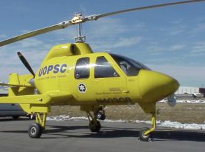Skyworks Hawk on patrol at the Salt Lake City Winter Olympics