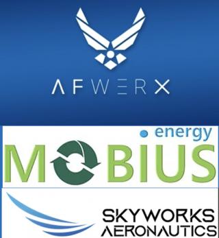 AFWERX-Mobius-Skyworks-logo